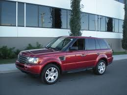 red range rover fs red 2006 range rover sport hse mint cdn vehicle financing