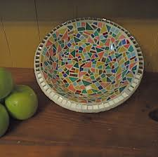 Home Decor Bowls Custom Decorative Mosaic Fruit Bowl By Live In Mosaics