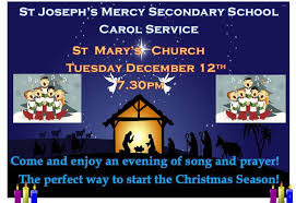 an invitation to our carol service st joseph s mercy