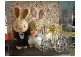 Wedding Gift Set Joy For Craft Wedding Bunny Gift Set