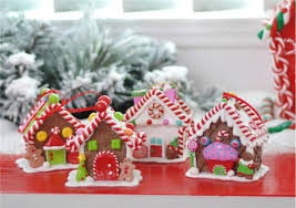 New Years Eve Window Decorations by Christmas Decoration Polymer Clay Sweet Home Candy House Window