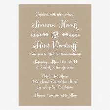 informal wedding invitations informal wedding invitation wording for the best design wedding