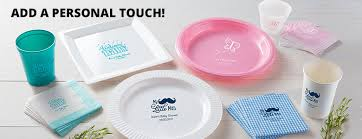 personalized baby plate personalized baby shower plates personalized baby shower