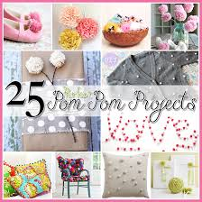 25 pom pom diy projects home decor clothes and great fun for the
