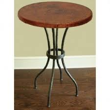 Hammered Copper Dining Table Copper Pub Table Foter