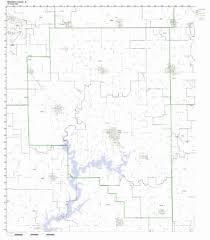 rock zip code map buy rock island county illinois il zip code map not laminated in