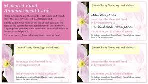 memorial card template memorial photo thank you card u2013 elegant