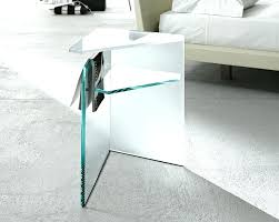 Glass And Wood Coffee Tables Side Table Small Glass Side Tables Coffee Table With Shelf Round