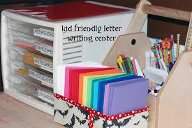 friendly letter writing paper a busy lizzie life kid friendly letter writing center kid friendly letter writing center