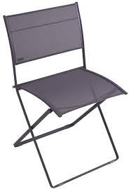 chaises fermob chaise pliante plein air de fermob prune
