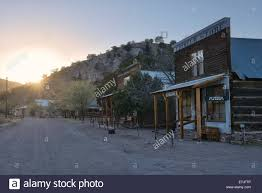 usa united states america new mexico chloride ghost town