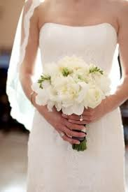 White Wedding Bouquets Classic White Wedding Bouquet Weddings Eve