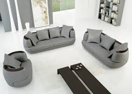 canape 3 2 places deco in ensemble canape 3 2 1 places en cuir gris clair