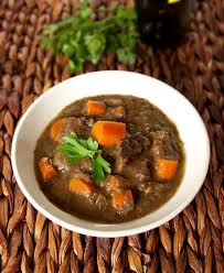 cuisine boeuf bourguignon boeuf bourguignon beef stew with carrots and wine pickled