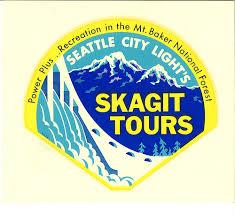 seattle city light login skagit tours sticker circa 1970s city lights 1970s and seattle