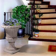 amazon com antique white italian 26 in urn planter italian