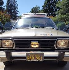 brat car desert fox 1981 subaru gl wagon