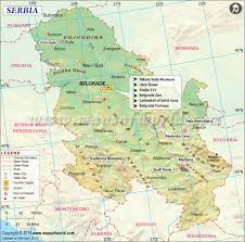Map Of Greece And Surrounding Countries by Serbia Map Map Of Serbia