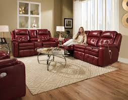 Southern Motion Reclining Sofa by Southern Motion Leather Power Head Rest Recliner Sofa Model 874p