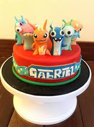 slug terra themed fondant cake cakecentral