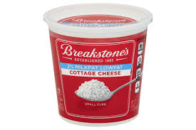 How Much Fiber In Cottage Cheese by Breakstone U0027s Liveactive 2 Cottage Cheese 4 4 Oz Cups Kraft Recipes