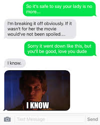 Girlfriend Cheating Meme - cheating girlfriend ruins new star wars movie funny gallery