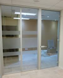 office design office partition sliding glass door full size of