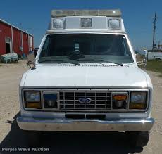 1991 ford econoline e350 ambulance item k4950 sold july