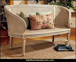 Rattan Settee Decorating Theme Bedrooms Maries Manor November 2011