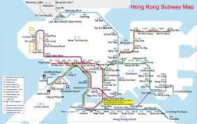 Sydney Subway Map Hong Kong Subway Map Subway Map Hong Kong China