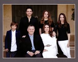 christmas card from the jordanian royal family 2014
