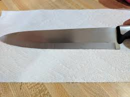 how to sharpen kitchen knives at home sharpening damaged knife blade repair seasoned advice
