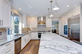 custom white kitchen cabinets luxury home interior boasts amazing white kitchen with custom