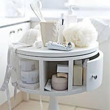 small storage table for bathroom 73 practical bathroom storage ideas digsdigs