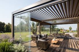 hi pergolas opera u0026 vision slide glass pratic spa