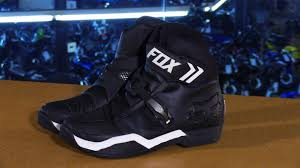 black motorcycle shoes fox racing bomber motorcycle boots review youtube