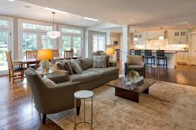small kitchen living room ideas magnificent open living room and kitchen designs h67 in home
