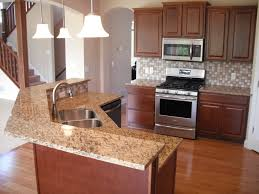 Stove On Kitchen Island Furniture Fascinating Santa Cecilia Granite For Countertop