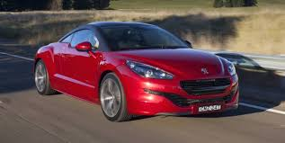 peugeot sports car 2016 peugeot rcz australian price slashed to 49 990 drive away in