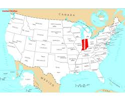 map usa nba nba usa map maps of indiana state collection of detailed maps of