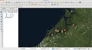 qgis layout mode tutorial how to make a map using qgis
