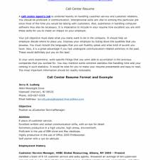 Call Center Agent Sample Resume Cover Letter Resume Sample Example Free Sample Resume Example