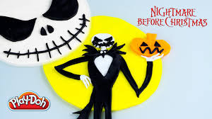 jack skellington play doh nightmare before christmas kinder