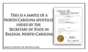 north carolina apostille apostille service by apostille net