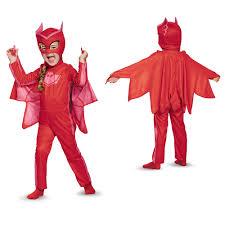 toddler pj masks classic owlette costume ebay