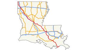 City Map Of Louisiana by Louisiana Highway 1 Wikipedia
