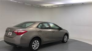 how much is a toyota corolla 2015 used toyota corolla le at rock toyota serving