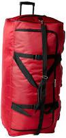 amazon com rockland luggage 40 inch rolling duffle bag black x