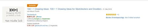 amazon germany 100 1 drawing ideas for sketchnoters and doodlers