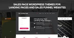 sales page wordpress themes for landing sales funnel websites